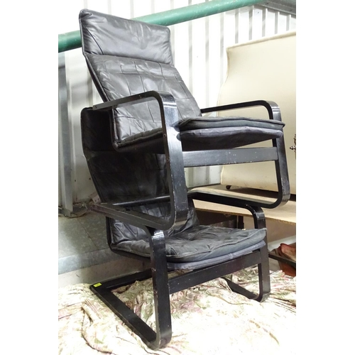20 - A pair of Vintage Retro Cantilever chairs...