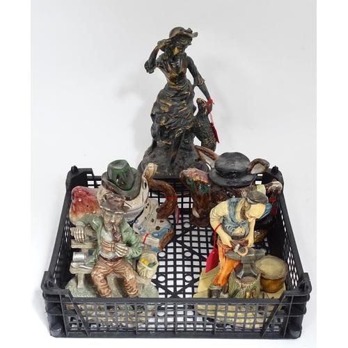 42 - A quantity of figurines...