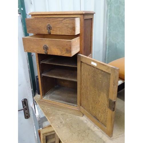 2 - An Art Deco pedestal cabinet by T A Matthews & Son Ltd....