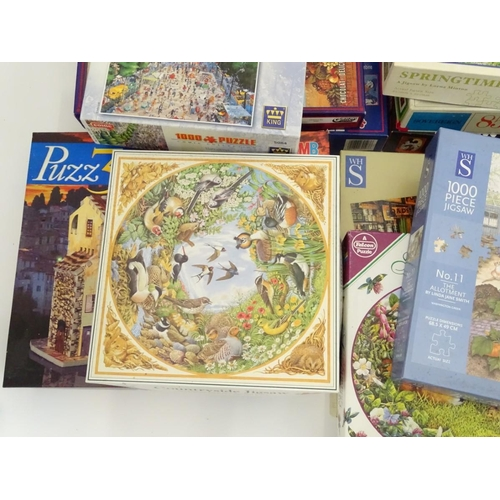 43 - A quantity of jigsaw puzzles...