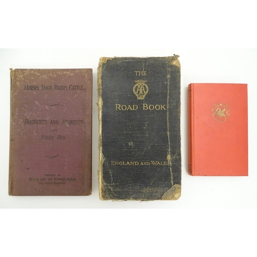 1284 - Books: Three assorted books, to include The Uses of Elliman's Embrocation for Horses, Dogs, Birds, C...