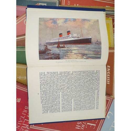 1286 - Books: A quantity of books from Series: Britain in Pictures circa 1941. Titles to include English Co...