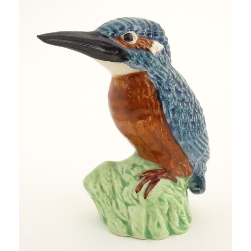 42 - A Beswick model of a kingfisher bird, model no. 3275. Marked under. Approx. 2 3/4