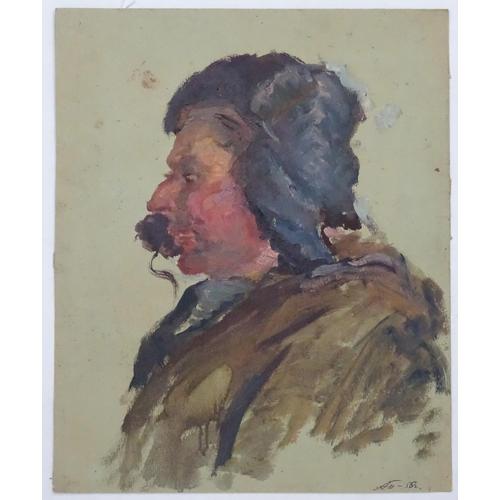 17 - Arkady Grigorievich Pavliuk (1925-2018), Ukrainian / Russian School,  Oil on artist's board,  'Tract...