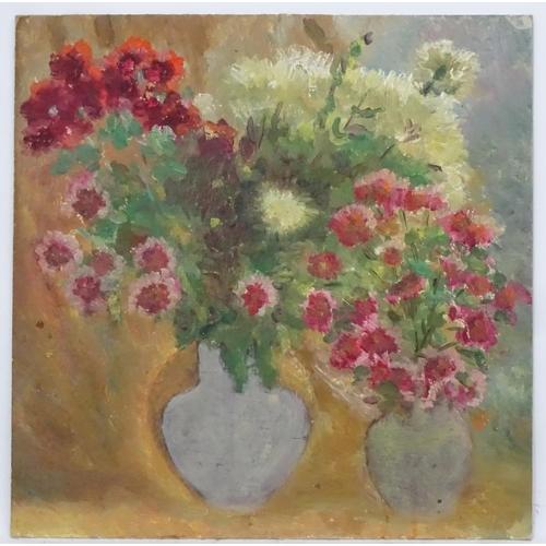 40 - Mikola Oleksandrovich Bondar, late XX, Ukrainian / Russian School,  Oil on artist's board,  'Still-L...