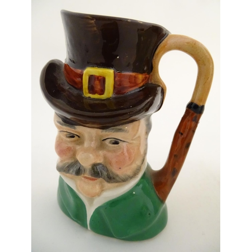 36A - A quantity of assorted Toby character jugs, by makers such as Sylvac, Shorter & Son etc. Tallest app...