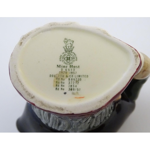 39 - A Beswick character sugar bowl / pot modelled as the Charles Dickens' character Tony Weller, model n...