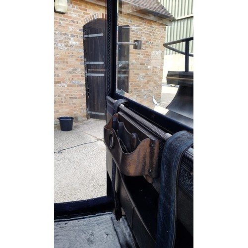 1195 - Horse-drawn Carriage :  A 19thC Single Brougham, built by A D Freyschuss of Stockholm. To suit 14-2h...