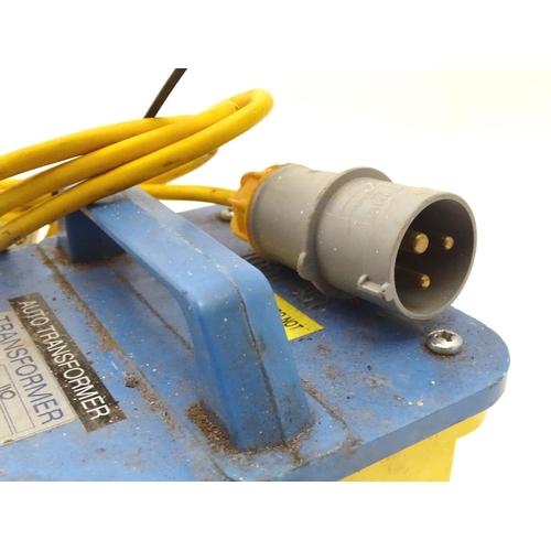 5 - Tools : A 110-240v transformer...