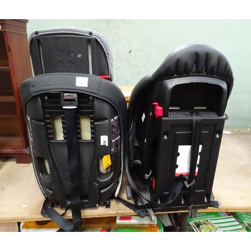 18 - An iSafe car seat together with Kinderkraft child's seat (2)...