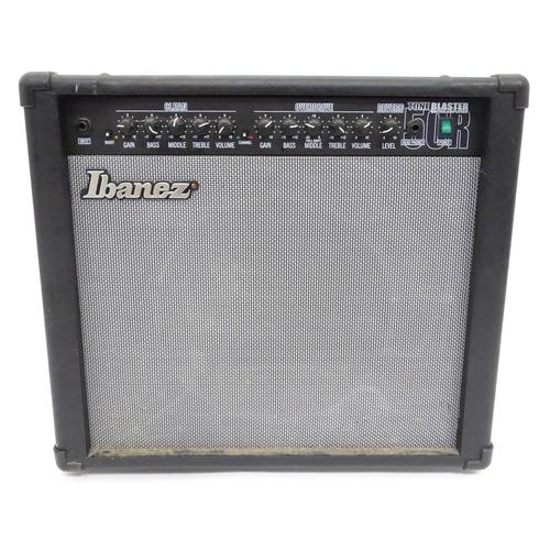 32 - An Ibanez Tone Blaster guitar amplifier...