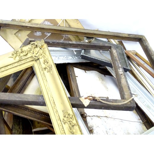 6 - A quantity of picture frames...