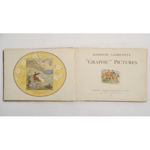 716 - Book: Randolph Caldecott's Graphic Pictures, London 1883