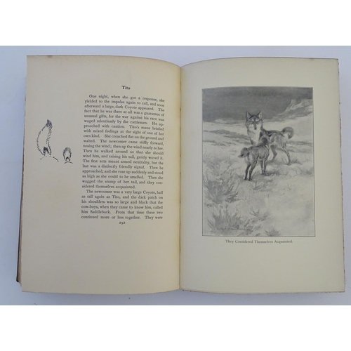 730 - Book: Lives of the Hunted, by Ernest Seton-Thompson, 1901 (pub. D Nutt, London 1901, 1st edition, 1s...