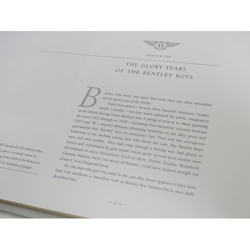 747 - Book : Bentley Continental R, by Ian Adcock, pub. Osprey Automotive 1992 First edition, bound in gre...