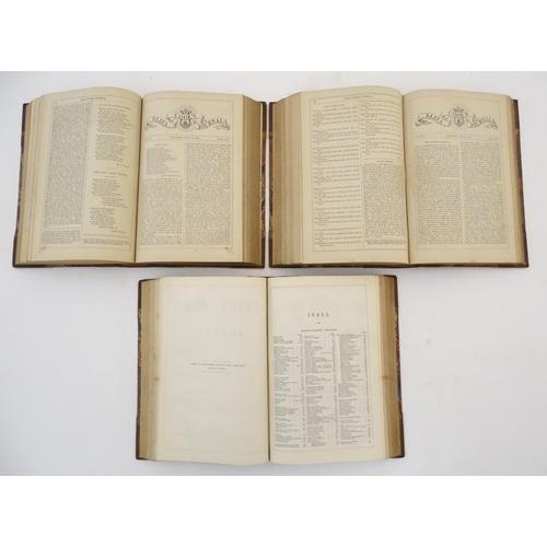 749 - Books: Eliza Cook's Journal, volumes 4, 5, 6, 7, 8 & 9 in three bindings, 1851-1853, pub. Charles Co...