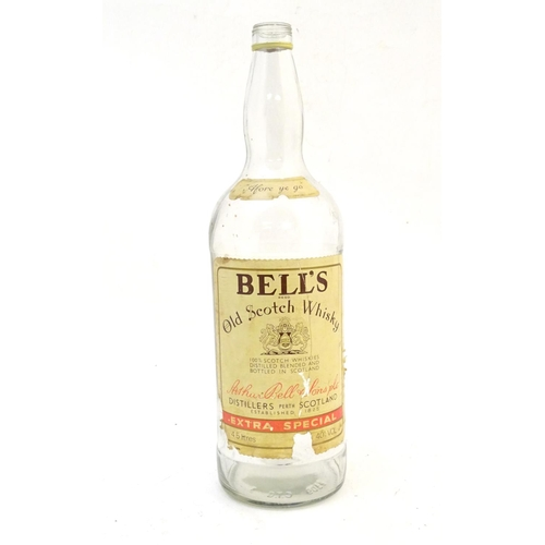 1274 - A 20thC Bell's Old Scotch Whisky 4.5L empty bottle. Approx. 19 1/2
