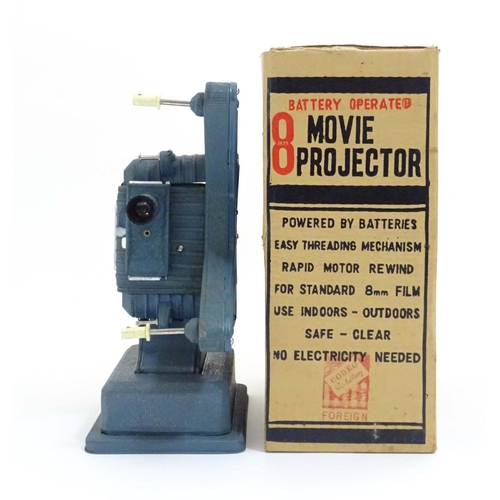 1308 - A 1960s Codeg 8 Japanese toy movie projector, with  original box, approximately 10