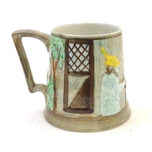 1325 - A Sylvac ' Pork Dripping ' pot together with a Radford tankard. The tankard 4 1/2