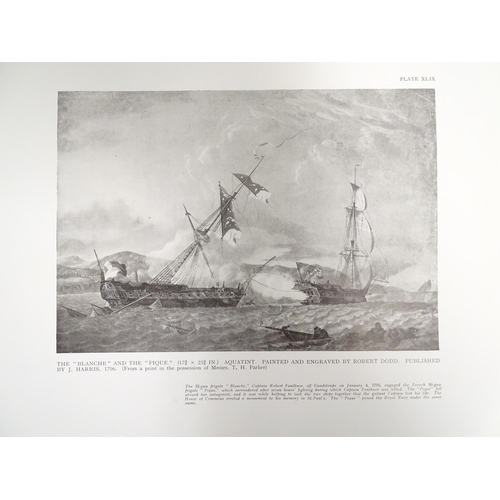 700 - Books: Jane's Fighting Ships 1941 (ed. Francis McMurtrie), together with Old Naval Prints, their Art...