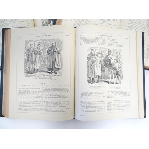 751 - Books: The Plays of William Shakespeare (ed. Charles & Mary Cowden Clarke, pub. Cassell Petter & Gal...