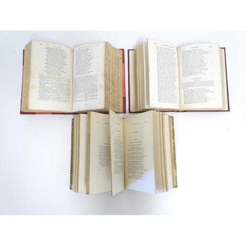 759 - Books: La Commedia di Dante (pub. Le Monnier 1868), he Vision of Dante (trans. Henry Francis Cary, p...