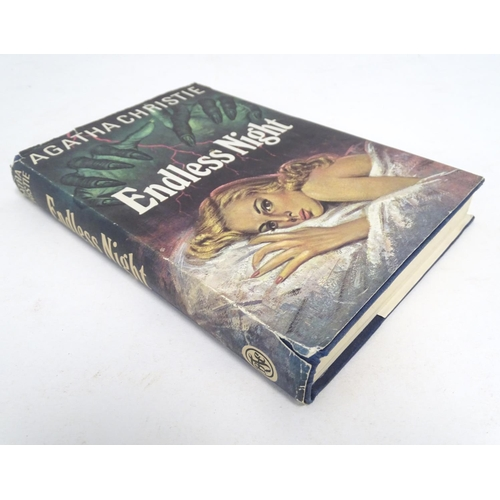 764 - Book: Endless Night, by Agatha Christie, first edition. Published The Book Club 1967