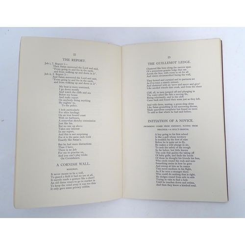 770 - Books: Cornwall in Verse (ed. Peter Redgrove, pub. Penguin 1983) together with Selected Poems on Wes...