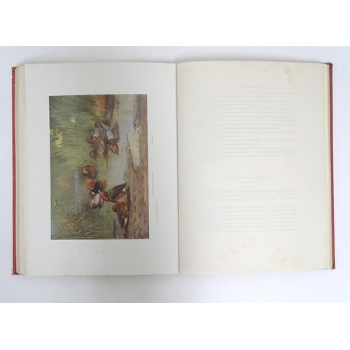 786 - Book: Game Birds and Wild-Fowl of Great Britain and Ireland (Archibald Thorburn, pub. Longmans Green...