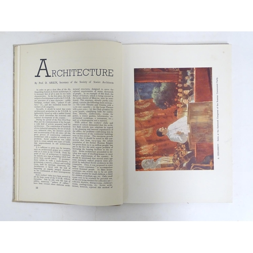 787A - Book: Art in the U.S.S.R, Architecture, Sculpture, Painting, Graphic Arts, Theatre, Film and Crafts,...