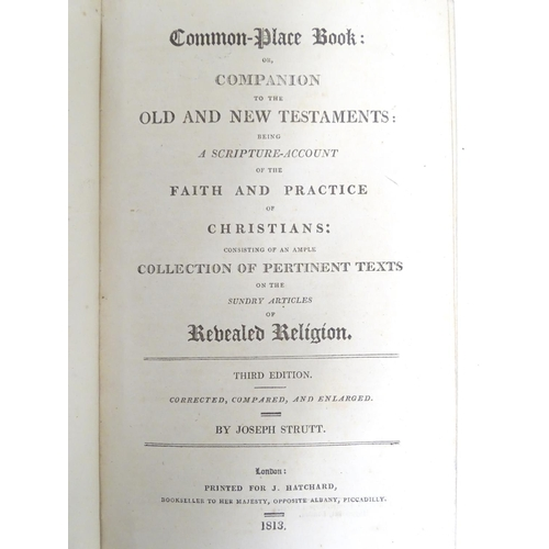 791 - Books: Six assorted religious texts comprising, An Essay on the Origin of Evil, by Dr. William King,...