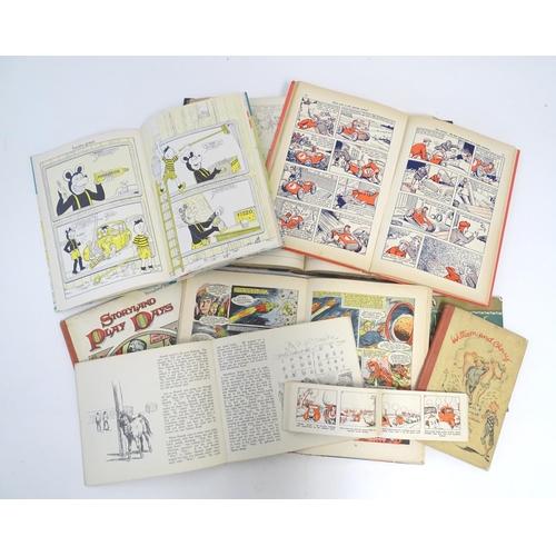794 - Books: A quantity of children's books comprising The Dandy Book, 1959; Lion Annual, 1956; The Beano ...