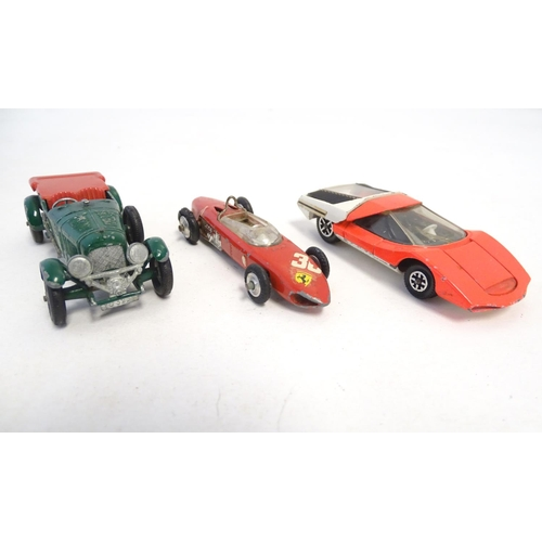 864 - Toys: A quantity of assorted die cast scale model Dinky Toys, comprising UFO Inspector, no. 351; Spe...