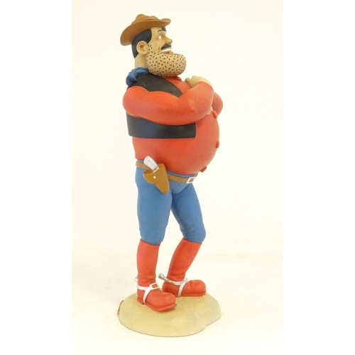 1306 - A boxed limited edition, no. 240/750, model of Big Desperate Dan, no. BDB03 by Robert Harrop from th...