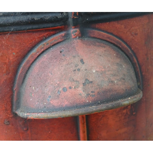 883 - Architectural, salvage & garden: an early 20thC Wells patent Waste Oil Filter (container), 23
