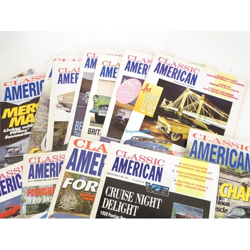1357 - Classic Cars, Motoring: a collection of Classic American car magazine, 40 issues from 1990-1997