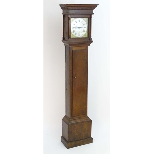 1634 - Local Interest Buckinghamshire  - Thomas Hurdnell Fenny Stratford :  An 18thC oak long case clock. t...