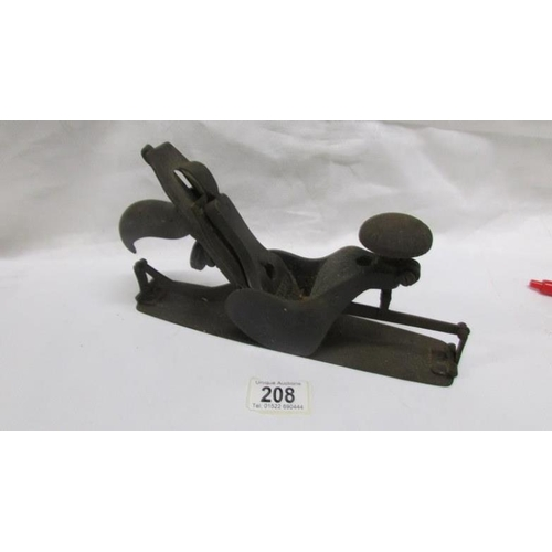 208 - A vintage Stanley woodworking plane...