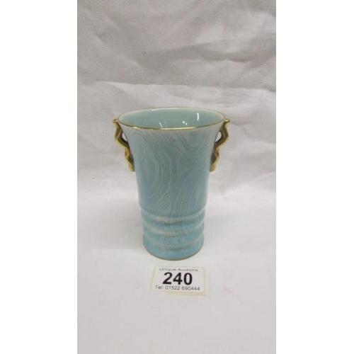 240 - A Carlton ware vase...