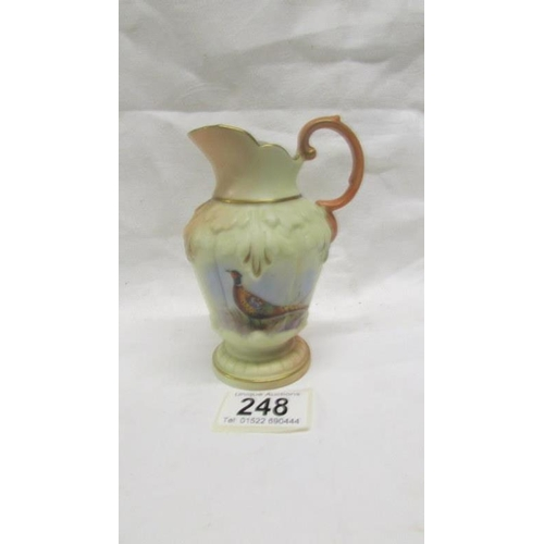 248 - A Locke & Co., Worcester porcelain jug...