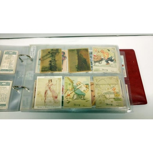 341 - 2 albums of pre WW2 cigarette cards (many 100's)...