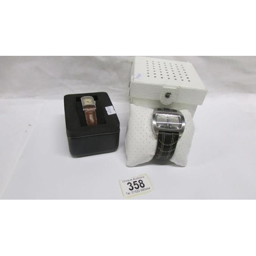358 - 2 wrist watches...