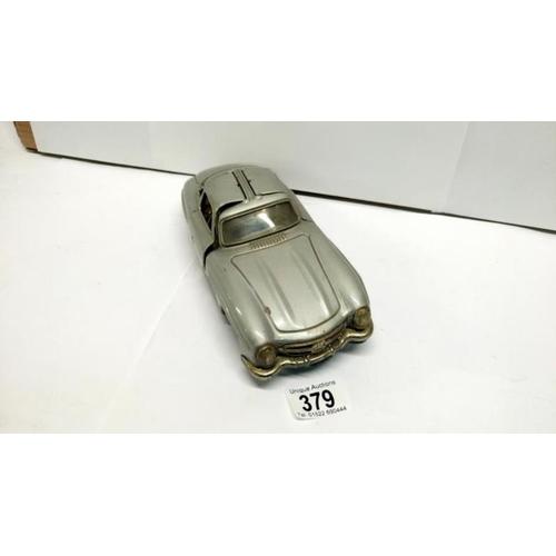 379 - A Bandan tinplate Mercedes 300SL gullwing...