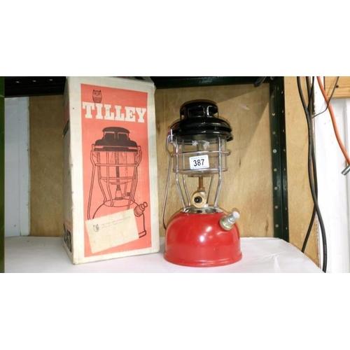 387 - A boxed Tilley X236B stormlight pressure lantern...