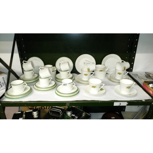 401 - 2 china tea sets...