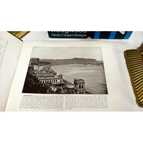 473 - A Round the coast pictorial album publishes by Geo. Newnes Ltd...