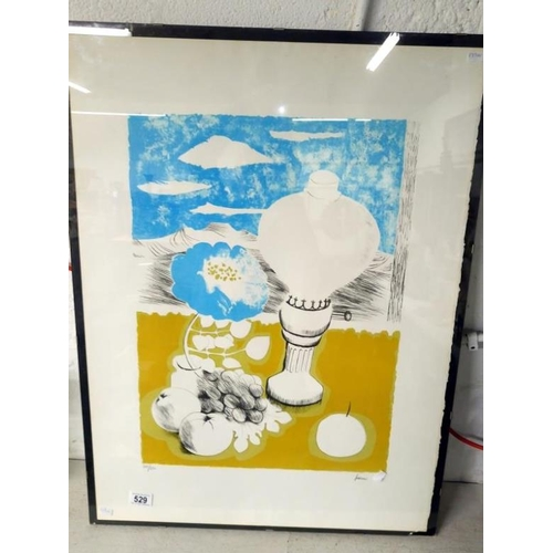 529 - A modern limited edition print signed Fedden...