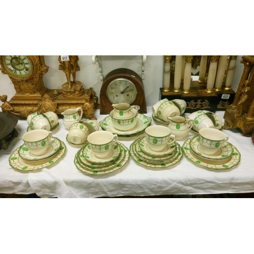 621 - Approximately 45 pieces of Royal Doulton Countess pattern tea ware...