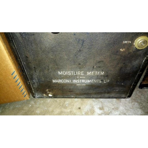 637 - A Marconi moisture meter No. TF933A...