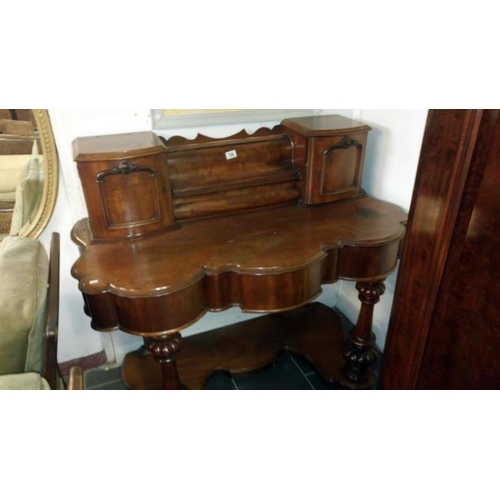 706 - A Victorian mahogany Duchy style dressing table...